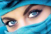 голубые глаза макияж